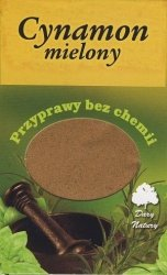 Cynamon mielony - 60g - Dary Natury