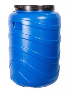 Beczka na kiszonki 130L niebieska