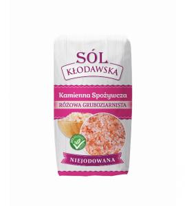 Sól gruboziarnista różowa 1kg