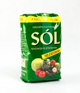 Sól niejodowana 1,1 kg