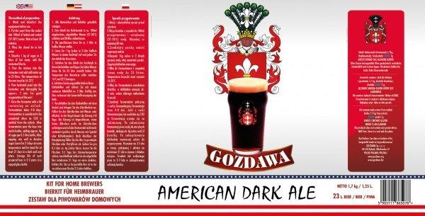 American Dark Ale 1,7kg + drożdże