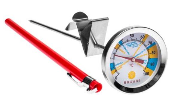 Termometr serowarski - tarcza, 0-100°C