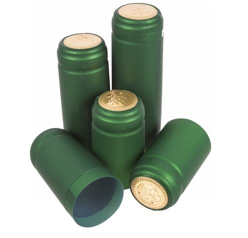 Zielone kapturki termokurczliwe