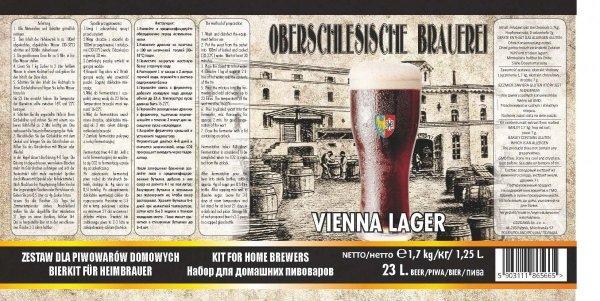 """Oberschlesische Brauerei """"Vienna Lager"""" - 1,7kg + drożdże"""