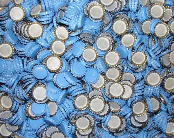 Kapsle niebieskie 26mm