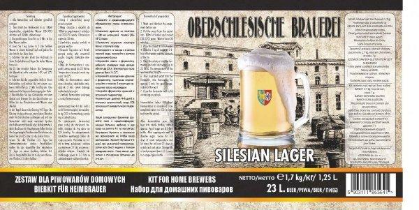 """Oberschlesische Brauerei """"Silesian Lager"""" - 1,7kg + drożdże"""