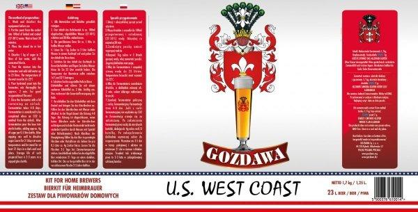 US West Coast 1,7kg + drożdże