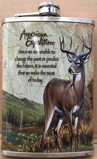 Piersiówka z jeleniem 270ml