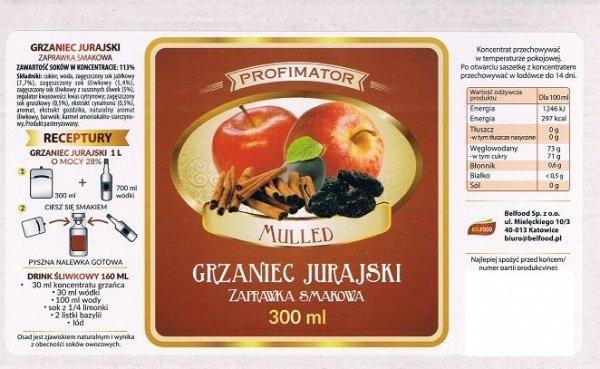 Zaprawka owocowa - Grzaniec Jurajski 300ml