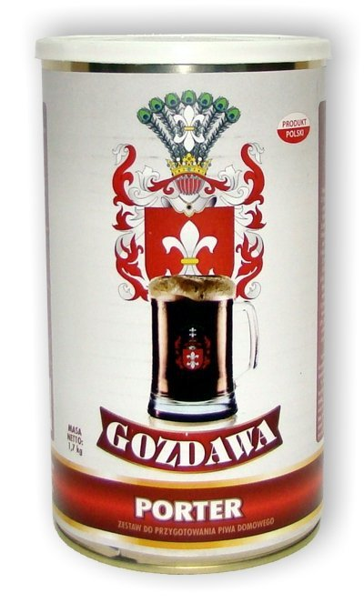 Porter 1,7kg - Gozdawa - dolna fermentacja