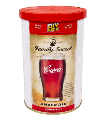 Koncentrat do wyrobu piwa Family Secret Amber Ale