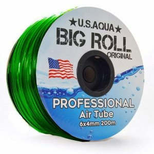 U.S.Aqua Airline Green Wężyk 6mm 1mb