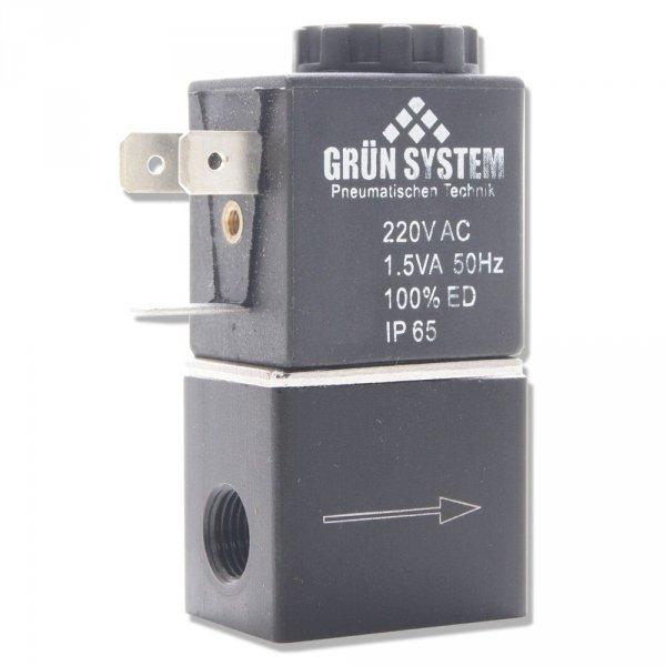 "Elektrozawór Grun System 230V 1/8"""