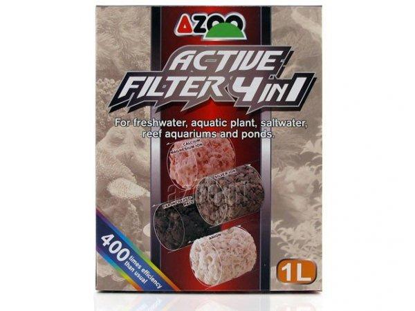 Azoo Active Filter 4In1 1L Innowacyjny Wkład Biologiczny.