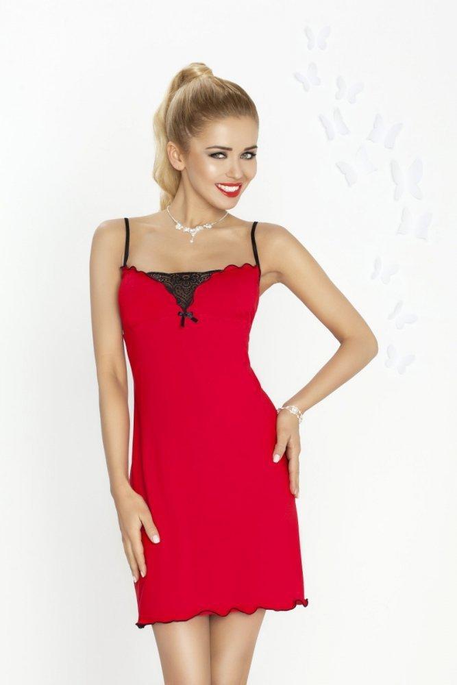 019a42847 Dkaren Kalina červená Noční košile - Noční košile - Noční prádlo