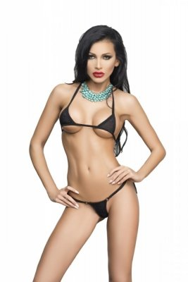 Me Seduce Ipanema Black Mini bikiny
