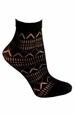 Sesto Senso Sicuro nero Ponožky