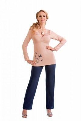Donna Dorothy meruňková Dámské pyžamo