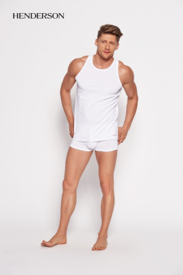 Henderson Bras 18732 00x Bílé Pánské tričko