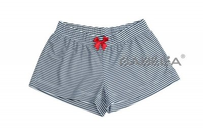 Babella Malibu 3096 Bílo-tmavě modré Pyžamové šortky