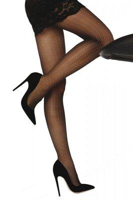 Livia Corsetti Nettie 20 DEN Black Punčochové kalhoty