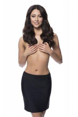 Julimex soft & smooth černá Polospodnička