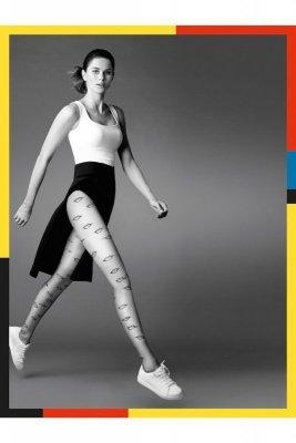 Gabriella 381 lips 20den nero Punčochové kalhoty