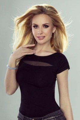 Eldar Gala černé Dámské tričko