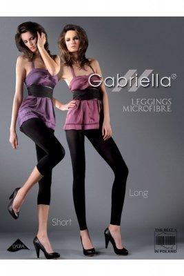 Gabriella 138 microfibre short chocco Legíny