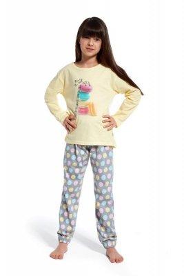 Cornette 972/83 Time to rest Žluté Dívčí pyžamo