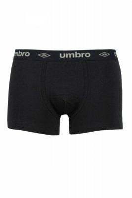 Umbro Sign black-grey Pánské boxerky
