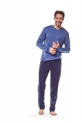 Henderson 36215 59 Tmavě modré Pánské pyžamo