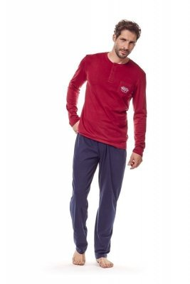 Henderson 36213 33x Červené Pánské pyžamo