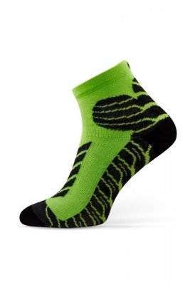 Sesto Senso Sport Socks limonkové Ponožky