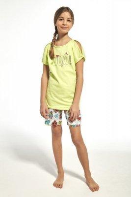 Cornette 242/61 young wow seledinové Dívčí pyžamo