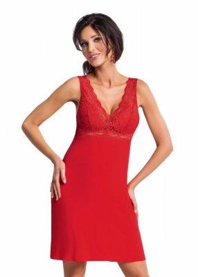 Donna Chantal červená Noční košile