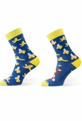 Sesto Senso Finest Cotton Duo Banán Ponožky