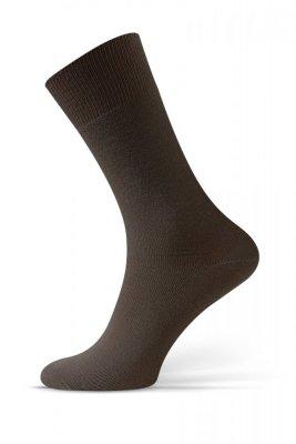 Sesto Senso Beztlakové hnědé Ponožky