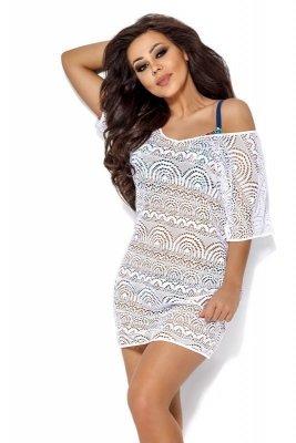 Ava sp 12 bílá Plažové šaty
