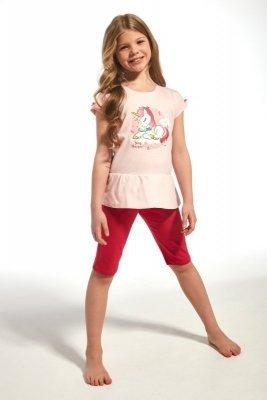 Cornette 241/60 kids unique růžové Dívčí pyžamo
