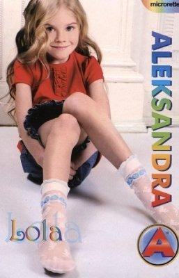 Aleksandra Lola 20 den dívčí ponožky