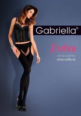 Gabriella Erotica Strip Panty microfibra 638 punčochové kalhoty