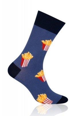 More Fastfood 079 Pánské ponožky