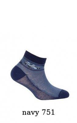 Gatta Cottoline jarní-letní vzorované G24.N59 2-6 let Chlapecké ponožky