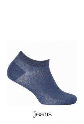 Wola Soft Cotton W31.060 6-11 lat Hladký ponožky
