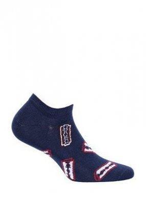 Wola Perfect Man Casual W91.N01 Vzorované pánské ponožky