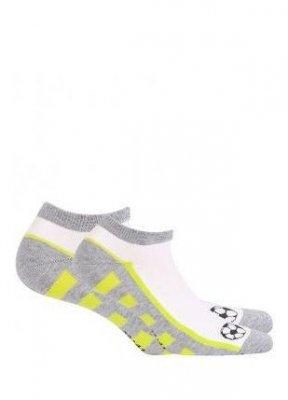 Wola W41.P01 11-15 lat Chlapecké ponožky s vzorem
