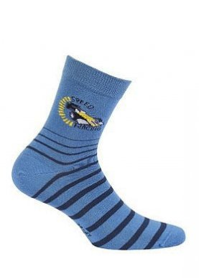 Wola W44.P01 11-15 lat Chlapecké ponožky vzorce