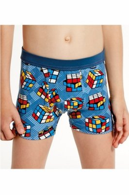 Cornette Young Boy 700/85 Cube Chlapecké boxerky