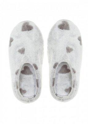 Henderson Ladies Hearty 37670-90X Grafitové Papuče